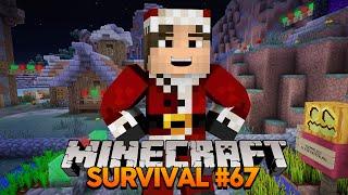 Minecraft Survival #67: Começando a Decoração de Natal!
