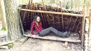 Building A Camp In The Woods Part 5