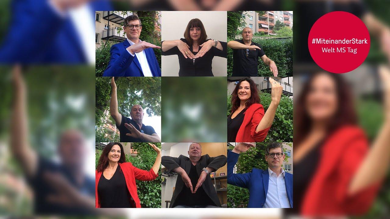 #MiteinanderStark - Welt MS Tag 2020