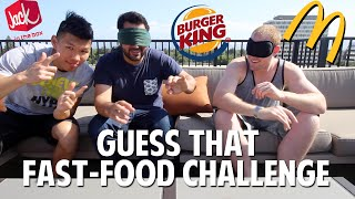 guess that fast food challenge