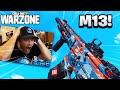 """M13"" BEST CLASS SETUP IN COD WARZONE!  (WARZONE M13 BEST GUNSMITH LOADOUT)"