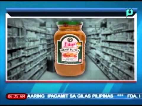 [Balitaan] FDA, ipinari-recall ang Lily's Peanut Butter sa mga groserya at pamilihan [04|07|14]