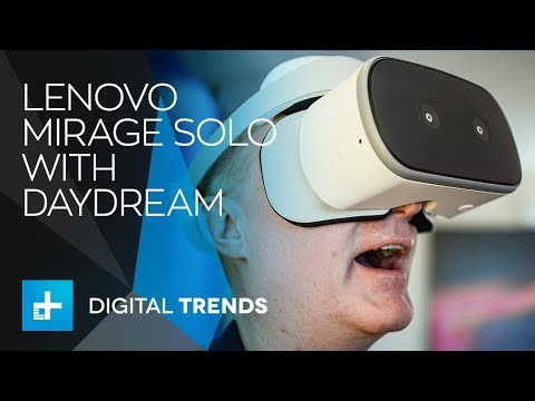 Lenovo Mirage Solo with Daydream Hands On review at CES 2018
