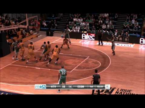 Darrin Dorsey #10 of Le Portel vs. Hyeres-Toulon full game France Pro A