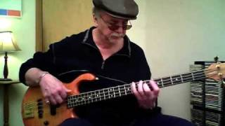 Classic Swing Blues Walk - Bass Lesson by Mark Stefani