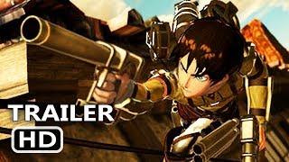 PS4 - Attack on Titan 2: Final Battle Gameplay Trailer (2019)
