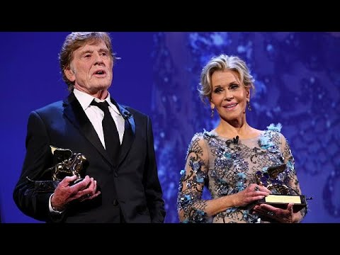 Venice Film Festival honours Jane Fonda and Robert Redford