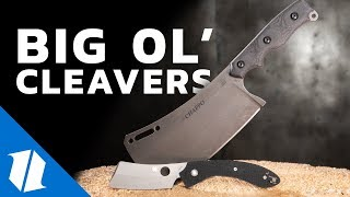 Why Carry A Cleaver Blade Knife? | Knife Banter Ep. 48