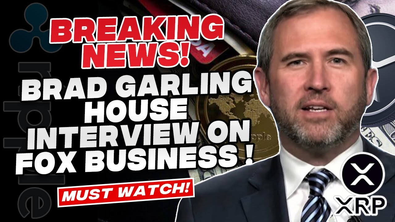 Ripple XRP News - Brad Garlinghouse Speaks On The Future of XRP! Bitcoin Price Targets now over 100k