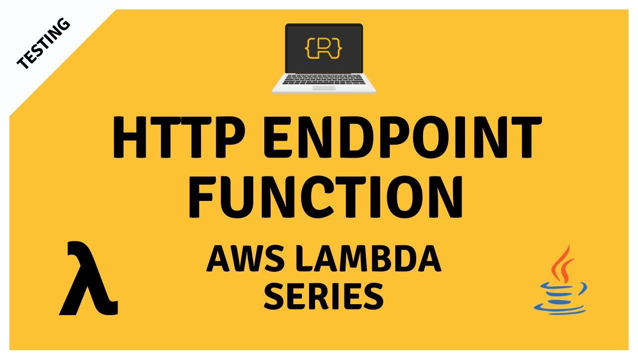AWS Lambda HTTP Endpoint Function with Java and Maven