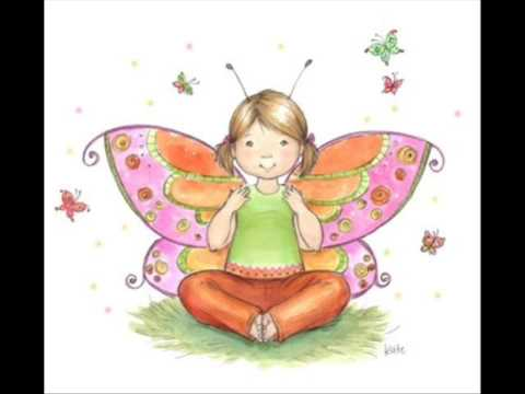 abc yoga for kids bb is for butterfly pose  youtube