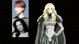 Anime Voice Comparison- Teresa (Claymore)