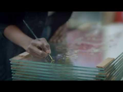 """Dustin Yellin's Stunning """"Window Sandwiches"""""""