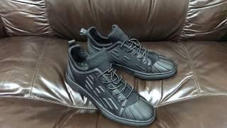 видео Мужская обувь Emporio Armani (Эмпорио Армани) купить по выгодной цене в интернет-магазине