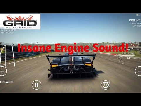Pagani Zonda R Gameplay in Autodromo do Algarve | 1080p HD | Grid Autosport Android