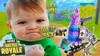 TROLLING THE  MOST ANGRIEST KID ON FORNITE