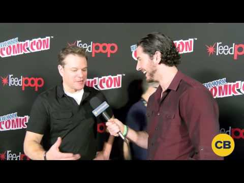 Thumbnail: Matt Damon discusses The Great Wall at New York Comic Con