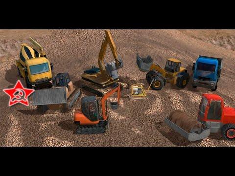 Строительный симулятор: Bagger-Simulator 2011 на ПК про технику