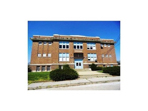 Joell's Old Milroy Indiana School. $30,000, 70K sq ft, 5 Acres.
