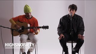 """Omar Apollo Performs Acoustic Versions of """"Kickback"""" and """"Friends""""  