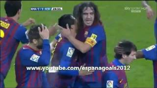 Real Madrid 1 - 3 Barcelona [GOALS] 10/12/2011 [ESP] - LIGA
