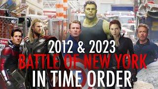The Battle of New York - Chronological Order 'The Avengers / ENDGAME' - PART ONE