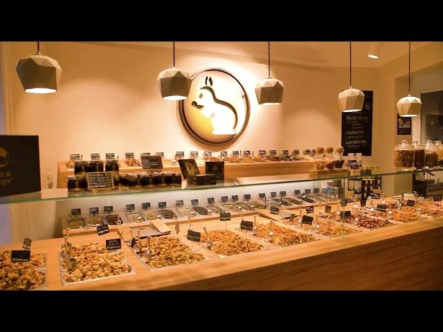 Der KERNenergie Hamburg Store - Frisch geröstete Nüsse und Feinkost in Ottensen