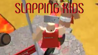 Roblox PFS #1 Slapping kids With Pillows
