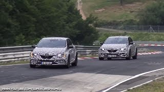2018 Renault Megane RS Spied testing on the Nurburgring, Nordschleife!