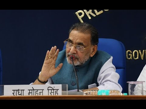 Video Conference By Union Agriculture & Farmers Welfare Minister Shri Radha Mohan Singh