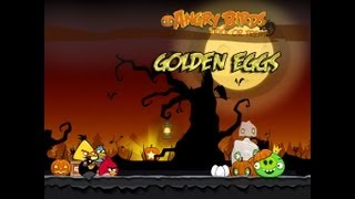 Angry Birds Seasons - Trick or Treat Golden Eggs Walkthrough