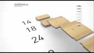 Shelfstore - Shelving & Bookcase System
