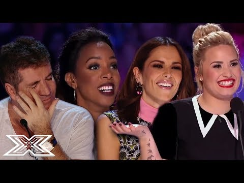 TOP 3 BEST EVER AUDITIONS - X Factor UK VS X Factor USA | X Factor Global