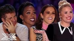 TOP 3 BEST EVER AUDITIONS - X Factor UK VS X Factor USA | X Factor Global