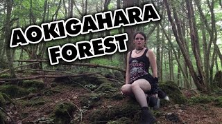 Shiverz In Japan: Alone in Aokigahara 'Suicide Forest' - 青木ヶ原 - 樹海