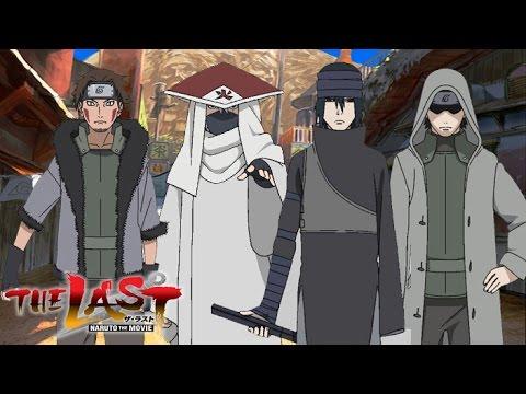The Last Naruto the Movie - Sasuke, Gai, Kiba & Kakashi ...