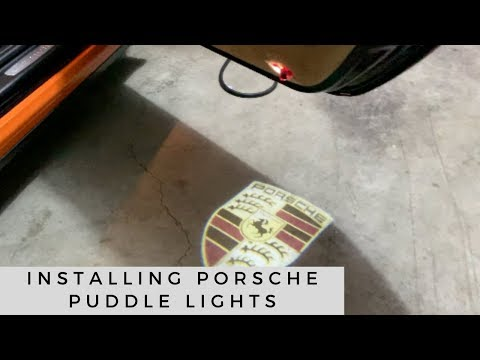 How to install Porsche Puddle Lights