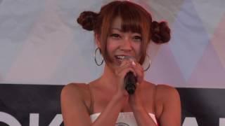 2016年9月4日富士スーパー耐久のSTガール投票にてみごと準グラン...