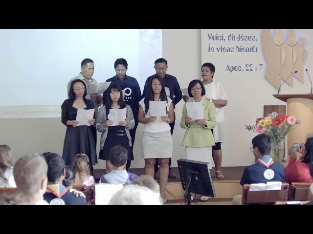Chant spécial Fanantenana