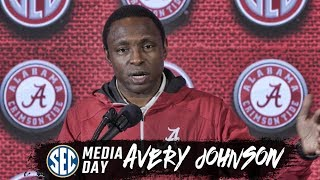Alabama's Avery Johnson speaks at SEC Basketball Media Day