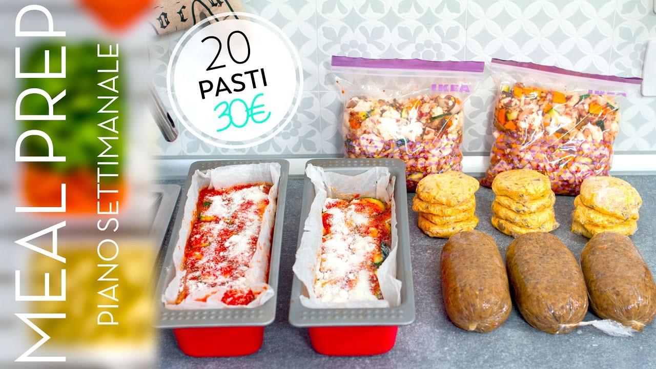Come Organizzare I Pasti Settimanali come organizzare il menù settimanale | 20 pasti a meno di 30€ | risparmiare  soldi, tempo e fatica
