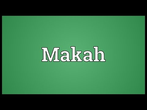 Makah Meaning