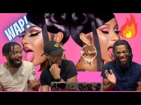 Cardi B - WAP feat. Megan Thee Stallion [Official Music Video] Reaction!!!