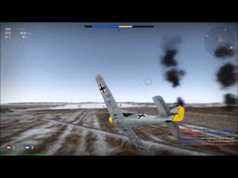 Like a fox in a chicken coop. ;-)  Fw 190 A-4 - WAR THUNDER