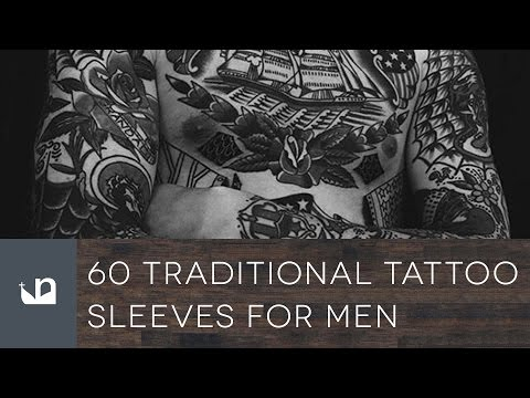 60 Traditional Tattoo Sleeves For Men