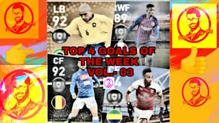 TOP 4 GOAL OF THE WEEK COMPILATION #3 - PES 2019 MOBILE