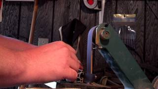 1x30 Belt Sander Knife Grinder Mods (explained)