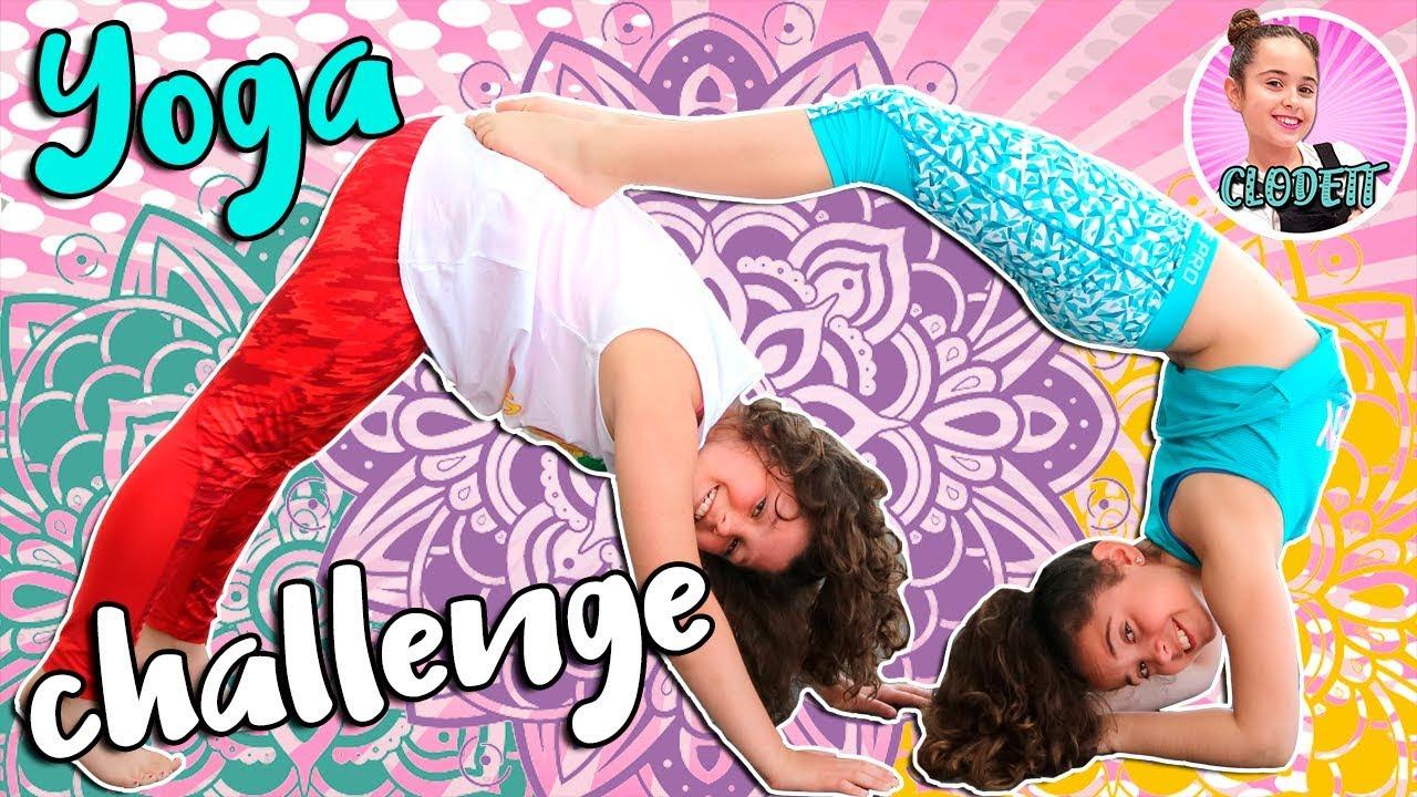 Yoga Challenge El Reto De Yoga Mas Divertido Con Mi Amiga Lady Pecas Youtube