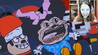 СЛИШКОМ много КРИКОВ! / Реакция на Mokey's Show :D