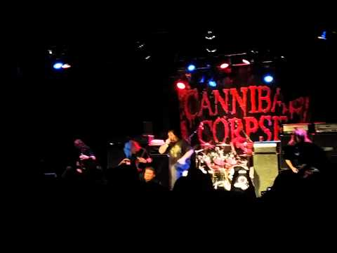Cannibal corpse - Hammer smashed face - George angry jumps off stage